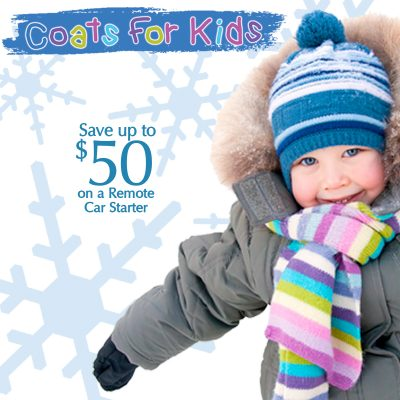 Coats for Kids Promotion