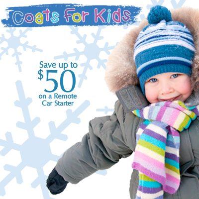 Coats for Kids Promotion