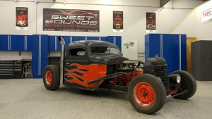 Mankato Client Gets Custom Rat Rod Audio System