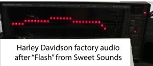 Harley-Davidson Radio Flashing