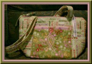 Breast Cancer Bags by Andy