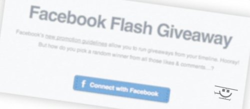 Start Your First Facebook Flash Giveaway Today with the new Rafflecopter App