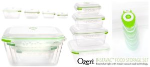 Ozeri INSTAVAC Green Earth Food Storage Container Set Review
