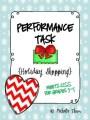 Performance Task {Holiday Shopping}