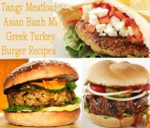 Tangy Meatloaf,Asian Banh Mi, andGreek Turkey Burger Recipes andBellemain Burger Press Review