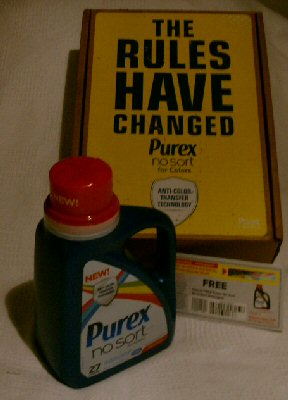 Free Purex® No Sort® for Colors detergent #Coupon #Giveaway ends 5/4