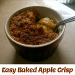 Easy Baked Apple Crisp