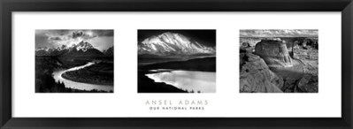 Love Art? You'll Love FulcrumGallery.com! Ansel Adams – Our National Parks Black and White Print #Review