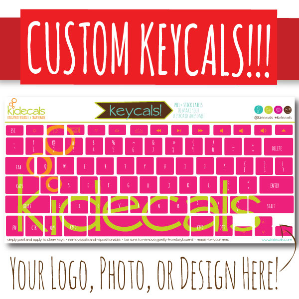 Create your own labels with Kidecal Giveaway ends 9/21