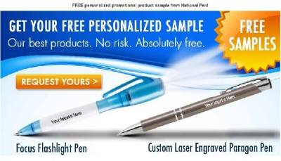 FREEBIE: Request Your Free Personalized Pen Today
