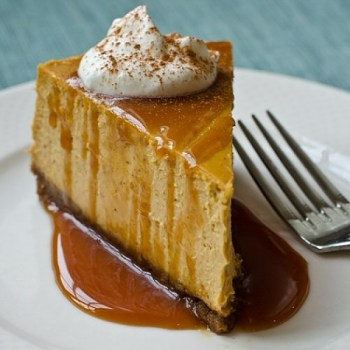 This Pumpkin Cheesecake offers a unique combination of flavors. Its smooth texture and tasty graham cracker crust make it the perfect addition to your Thanksgiving table.