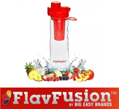 FlavFusion 25 oz Infuser Water Bottle Review