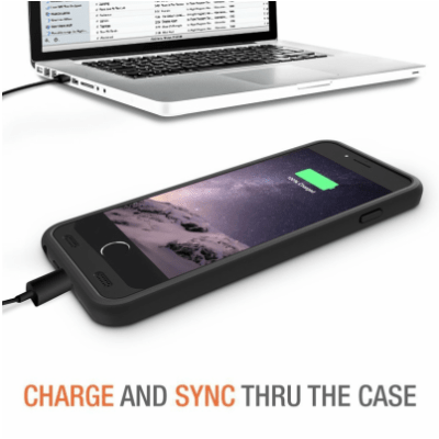 The Trianium Atomic S iPhone 6 Battery Case is a must have!