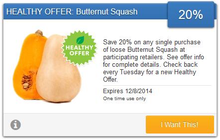 Save 20% on Butternut Squash