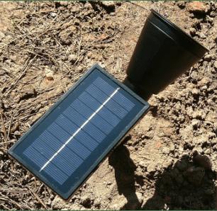 Outdoor LED Solar Spotlight