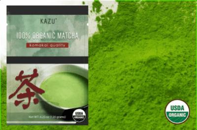 Kazu Organic Komakai Matcha Green Tea is perfect your your Japanese Tea Ceremony