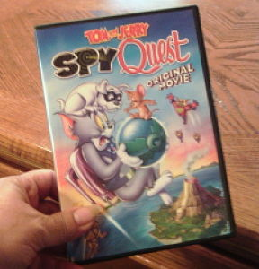 Tom and Jerry: Spy Quest: An All-New Original Animated Film Available On DVD