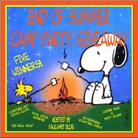 End of the Summer Camp Party Giveaway