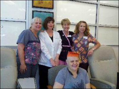 How Breast Cancer Has Touched My Life - My sister at her 2012 Graduation from Chemotherapy!