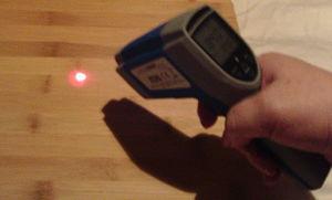 Lasergrip 1022 Temperature Gun