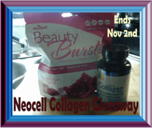 Enter to Win This Great Beauty Prize Package in the Neocell Collagen Giveaway by 11/2/15