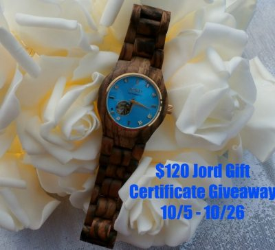 Jord wood watch giveaway