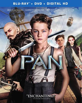 Ready for a family movie night? Check out PAN‬ on Blu-ray