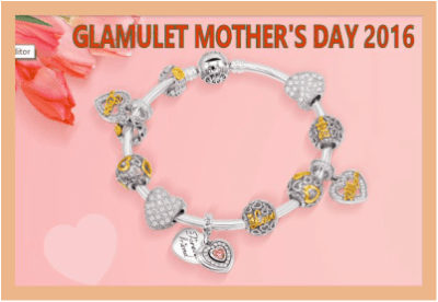 100 Winners! Celebrate Unforgettable Moments This Mother's Day - Enter to Win A Complete Bracelet Worth $200 #GlamuletMotherDay2016