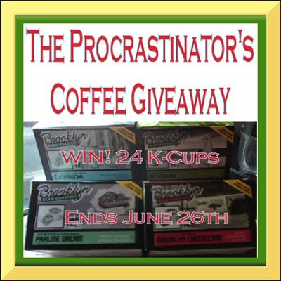 The Procrastinator's Coffee Giveaway