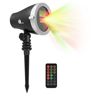 Laser Painting Makes Decorating Easy - Outdoor Laser Christmas Light Projector