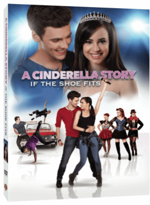 A Cinderella Story: If the Shoe Fits – The Cinderella Musical Film is now on DVD!