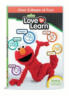 Sesame Street Love to Learn Elmo DVD