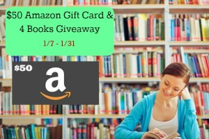 $50 Amazon Gift Card and 4 Books Giveaway Ends 1/31/17