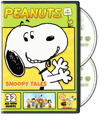 ▶️️ Peanuts by Schulz: Snoopy Tales On DVD In two weeks!
