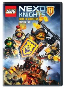 ▶️️ The NEXO Knights are back again! Season 2: Book of Monsters on DVD 1/17