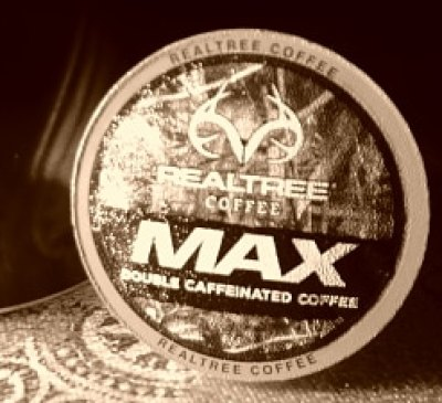 Realtree MAX - This double caffeinated coffee can help you seize the day and make it yours! - Realtree MAX Double Caffeinated KCUP