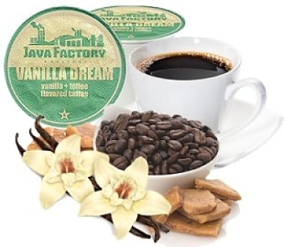 This Java Factory Vanilla Dream Coffee isHeaven In a Cup