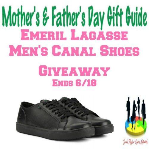 Emeril Lagasse Men's Canal Shoes Giveaway @SMGurusNetwork