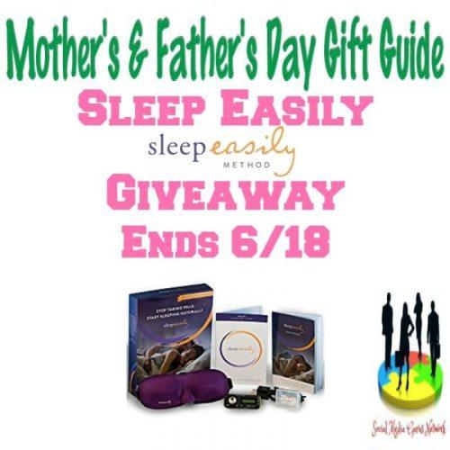 Sleep Easily Gift Guide Giveaway Ends 6/18 @SMGurusNetwork @sleepeasily