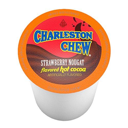 Charleston Chew Strawberry Hot Cocoa