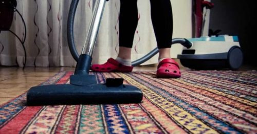 """Not sure how often you should vacuum your home? Check out this comprehensive blog post, """"How Often Should you Vacuum your Home (and Why according to Experts)"""" which includes 8 hours of research."""