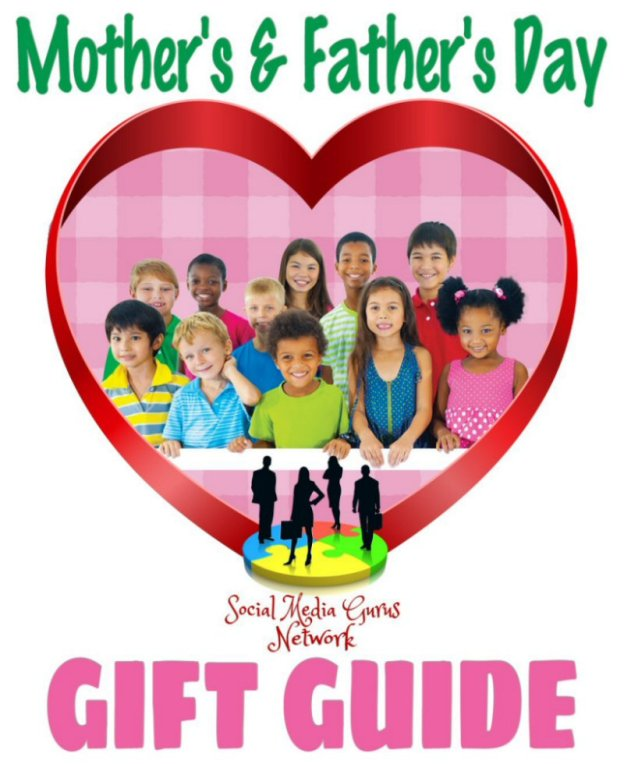 Mother's and Father's Day Gift Guide Button