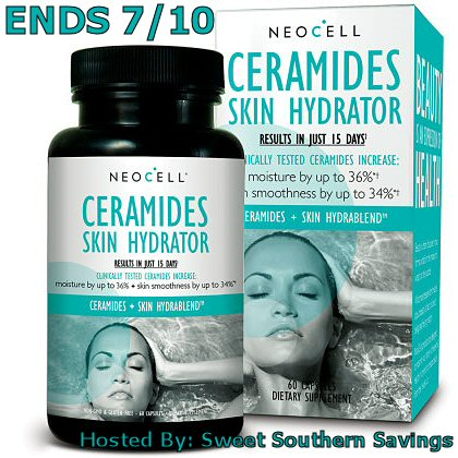 NeoCell Ceramides Skin Hydrator Giveaway Button - How to run an Instagram giveaway