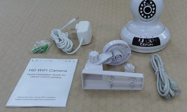 Keep An Eye On What's Important With This LEFUN WiFi Nanny/Security Camera!