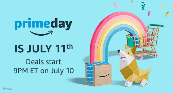 Amazon Prime Day will be Tuesday, July 11, 2017