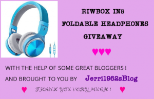 Riwbox IN5 Foldable Headphones Giveaway Ends 7/1