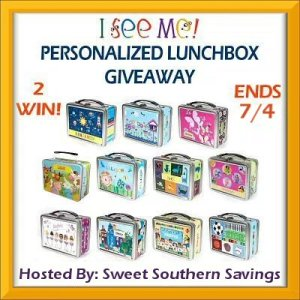 Summer's Here! - I See Me Personalized Lunch Box Giveaway