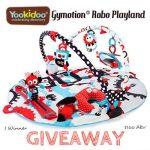 Yookidoo Gymotion® Robo Playland Giveaway