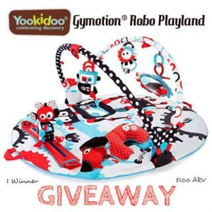 Yookidoo Gymotion® Robo Playland Giveaway