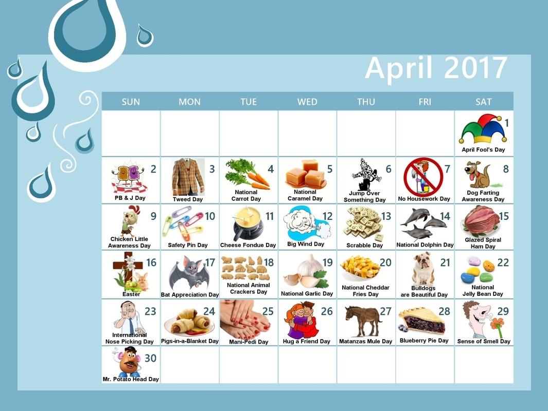April 2017 Calendar: Don't Miss These Fun and Weird April 2017 Holidays